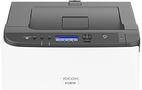 RICOH P C301W Color Laser Printer